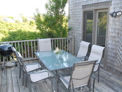 Nantucket Town house rental - Outdoor Deck