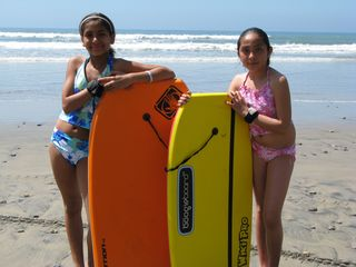 San Quintin house photo - The kids love the beach!