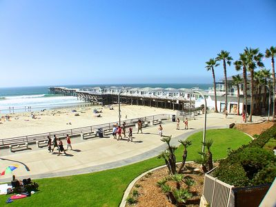 Pacific Beach condo rental - ONE OF MANY BOARDWALK VIEWS