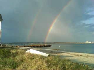 Niantic house photo - Rainbow at Oak Grove Beach