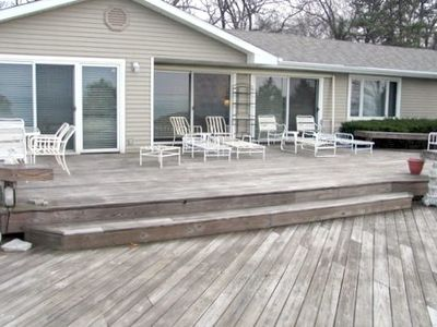 Large Two Level Deck For Entertaining and Sunsets