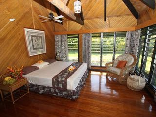 Taveuni house photo - Master bedroom with newly fitted king size bed.