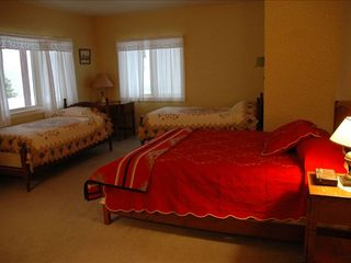 Durango house photo - East Bedroom, Lower Level (queen + 3 twins)