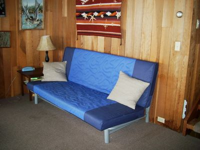 Futon Couch in Living Room