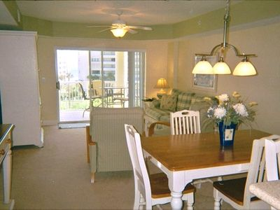Ponce Inlet condo rental - Living/Dining room