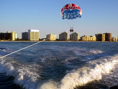 Parasailing on Marco Island - 2 minute walk from Condo