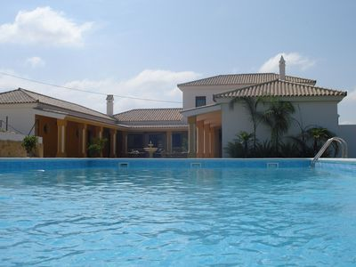 Luxury modern villa, private pool, cozy, air-conditioning, WiFi, high comfort