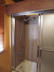 Corte Madera house photo - rain fall shower with additional hand held wand shower