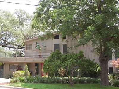 Lake Austin townhome rental - Street View