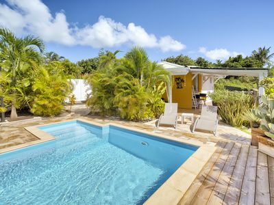 Cottages Cape Antilles Luxurious close Raisins Clairs beach ST François