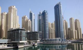 Dubai Marina & Al Sufouh apartment photo - Balcony view