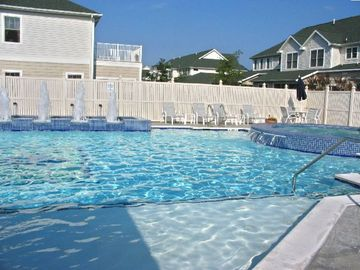Rehoboth Beach condo rental - Resort Type Swimming Pool and Hot Tub.