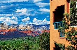 Sedona condo photo - Exterior of Resort with View of Mountains at the Sedona Summit Resort