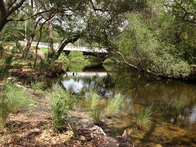 Onsite access to Mullet Creek
