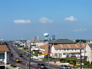 Brigantine condo photo - View of Town and Atlantic City Casino Skyline