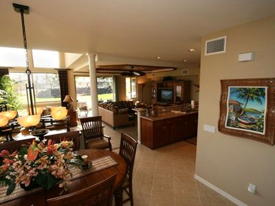Gather here in your Big Island inspired luxury vacation rental