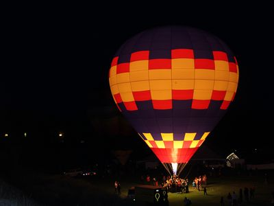 Light the Night Balloon Festival held in Pagosa Springs in September