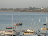 Superb coastal marina holiday home with views along the Exe estuary