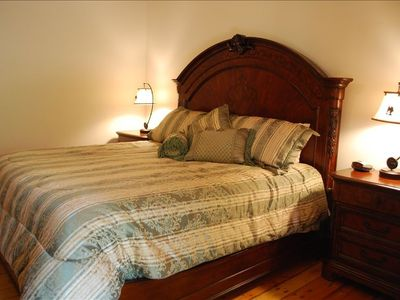 Branson house rental - King Bedroom #3