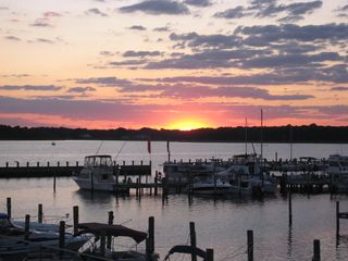 Another beautiful sunset! - Dewey Beach townhome vacation rental photo