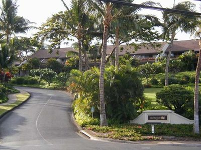 Entrance to Maui Kamaole Complex