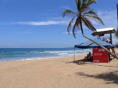 Casa Caracola has direct access to the beautiful Cocles surf beach.