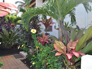 Botanical Garden private entrance - Kailua Kona condo vacation rental photo