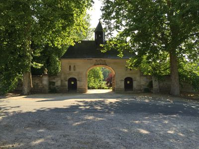 """Sambam """"The outbuildings"""" of the castle of Fourdrain from 18 to 45 people - le Grand Sambam domaine de Fourdrain"""
