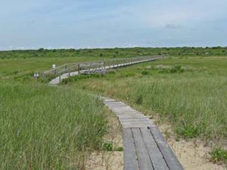 Chilmark house photo - homeward bound, the boardwalk from the beach to the parking area