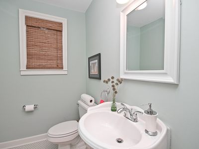 """Delight"" - Downstairs offers a half bath"