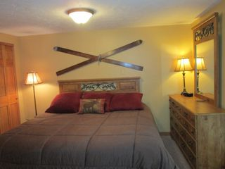 Copper Mountain condo photo - King bed in master with upgraded linens