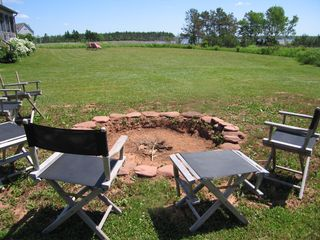 Point Prim house photo - The fire pit