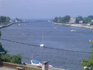 Grand Haven condo photo - View of the channel from the lanai