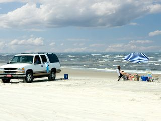 Carolina Beach condo photo - One mile north of he condo you can drive out on the beach at Freeman Park (4WD)