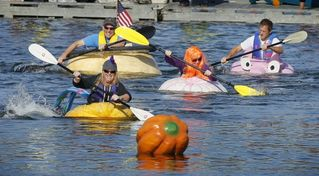 Pemaquid Beach house photo - Pumpkin Regatta in Damariscotta