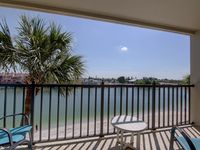 Gated and beachfront community, walk to the sand in 1 minute! Bayfront Condo