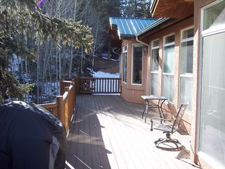 Woodland Park house photo - Back Deck Space (part of over 1000Sq Ft)