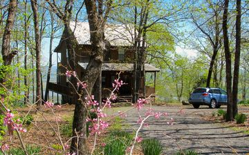 Petit Jean State Park cabin rental - Spring is in the air! April 12, 2013