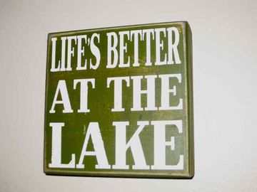 What more can we say! We hope to see you soon at the Lake House.