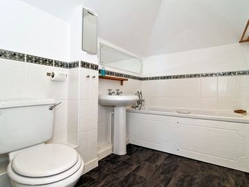 Main Bathroom with Bath & Shower Cubicle