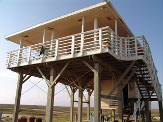 Galveston property rental photo - Galveston/Surfside Private Beach House Sleeps 12