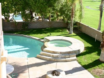 Another View of Pool, Spa, and Firepit