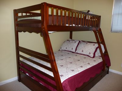 Bunkbed in 3rd Bedroom - Upstairs