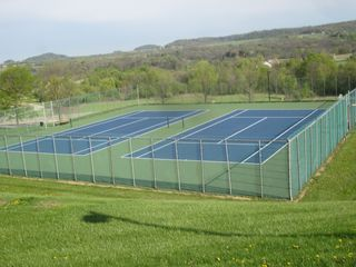 Galena house photo - Tennis Court with a spectacular view - bring your racquet!