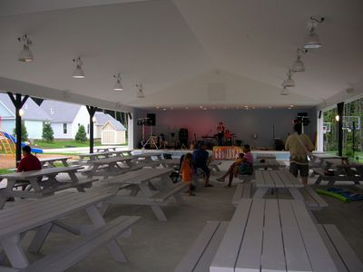 Pavilion for entertaining