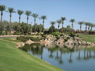 Chandler house photo - The Drive up to Ocotillo Golf Resort