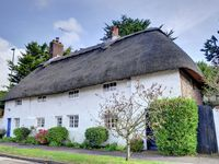 Quaint thatched is located on the outskirts of the seaside town of Shoreham-by-Sea