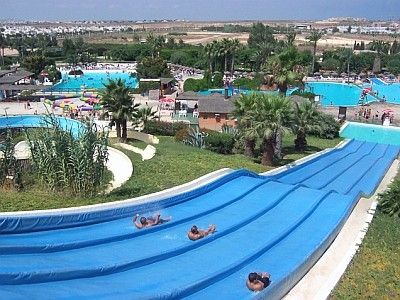 Waterpark nearby
