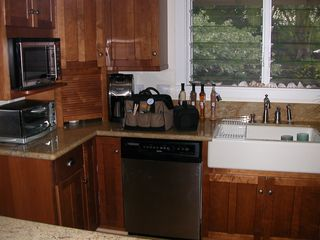 Kailua house photo - kitchen has high end appliances