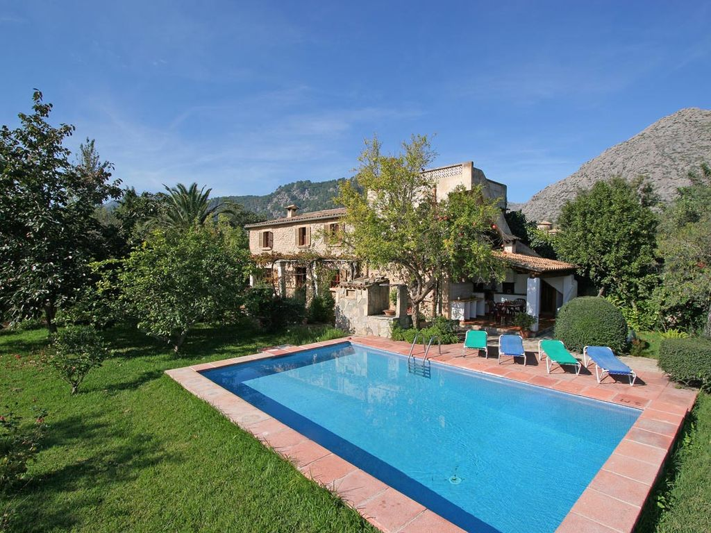 Peaceful house, with pool , Pollenca, Balearic Islands